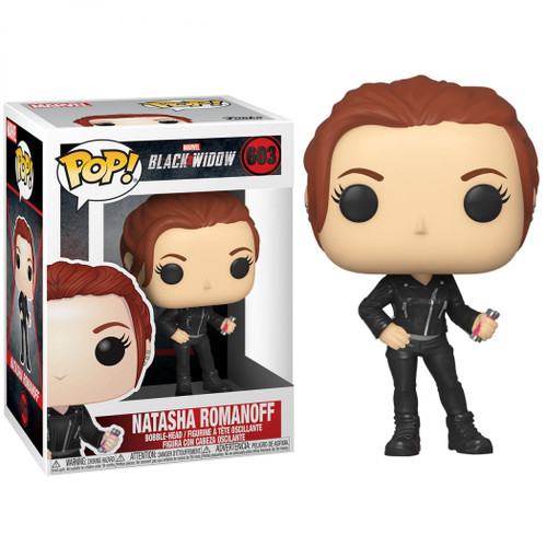 Funko POP! Marvel Black Widow Vinyl Bobble Head #603 [Street Clothes]