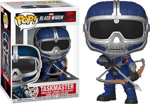 Funko Black Widow POP! Marvel Taskmaster Vinyl Bobble Head #606 [Bow]