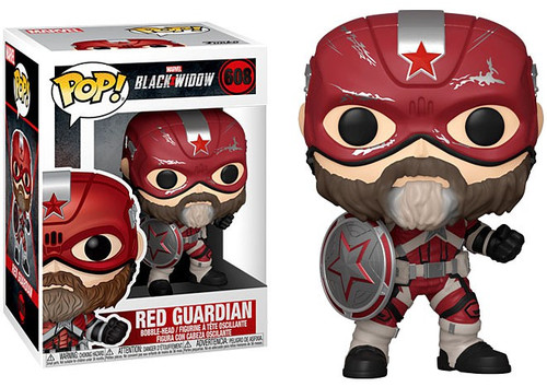 Funko Black Widow POP! Marvel Red Guardian Vinyl Bobble Head