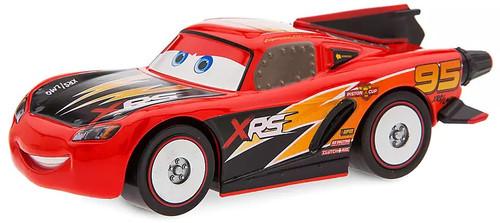 Disney / Pixar Cars Cars 3 Pull 'N' Race Lightning McQueen Rocket Racer Exclusive Diecast Car