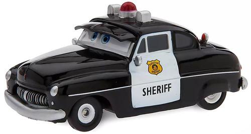 Disney / Pixar Cars Cars 3 Pull 'N' Race Sheriff Exclusive Diecast Car
