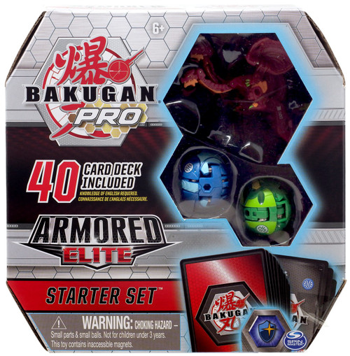 Bakugan Pro Armored Elite Nillious Ultra Starter Set