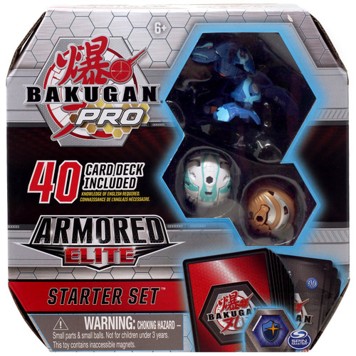 Bakugan Pro Armored Elite Trox Ultra Starter Set