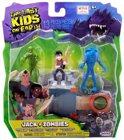 The Last Kids on Earth Jack + Zombie Figure 3-Pack