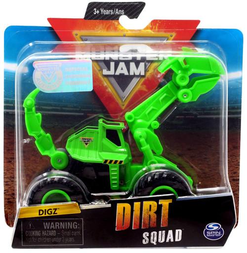 Monster Jam Dirt Squad Digz Diecast Car