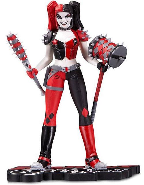 DC Harley Quinn Red, White & Black Harley Quinn 7-Inch Statue [Amanda Conner] (Pre-Order ships March)