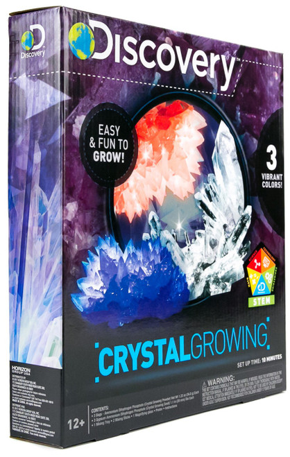 Discovery Crystal Growing Science Kit