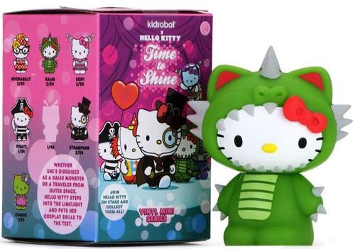 Sanrio Hello Kitty Vinyl Mini Figure Time To Shine 3.5-Inch Mystery Pack [1 RANDOM Figure]