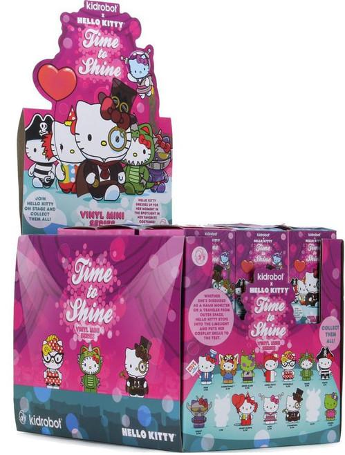Sanrio Hello Kitty Vinyl Mini Figure Time To Shine 3.5-Inch Mystery Box [24 Packs]