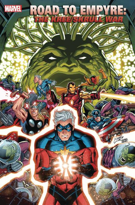 Marvel Comics Road to Empyre #1 Kree Skrull War Comic Book [Ron Lim Variant cover]