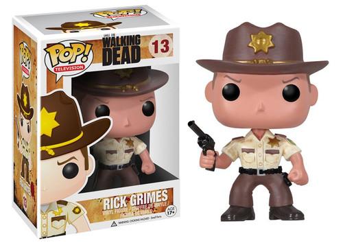 Funko The Walking Dead POP! TV Sherriff Rick Grimes Vinyl Figure #13 [Damaged Package]