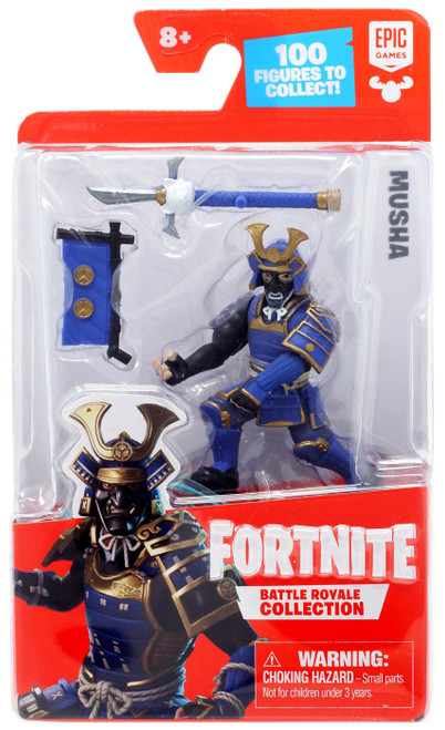 Fortnite Epic Games Battle Royale Collection Musha 2-Inch Mini Figure