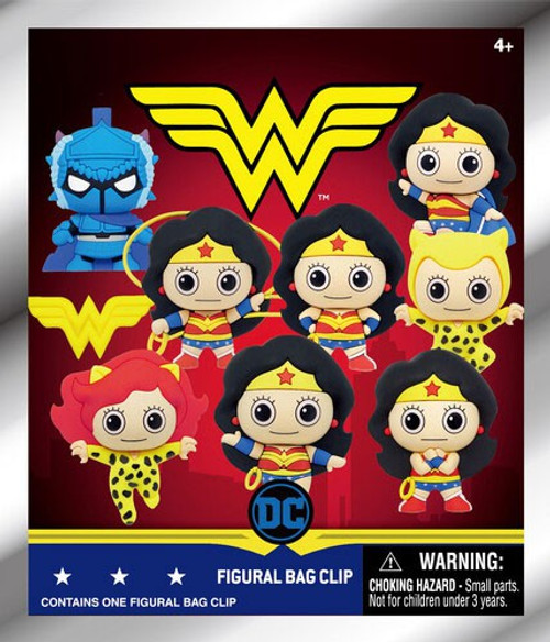 Digimon 3D Figural Keyring Wonder Woman Classic Series 1 Mystery Pack [1 Figure]