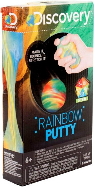 Discovery Rainbow Putty Science Kit