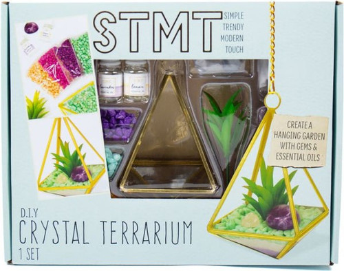 STMT Simple Trendy Modern Touch Crystal Terrarium