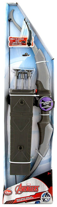 Disney Marvel Avengers Deluxe Hawkeye Quiver with Collapsible Bow & Arrow Set Exclusive Roleplay Toy [2015]