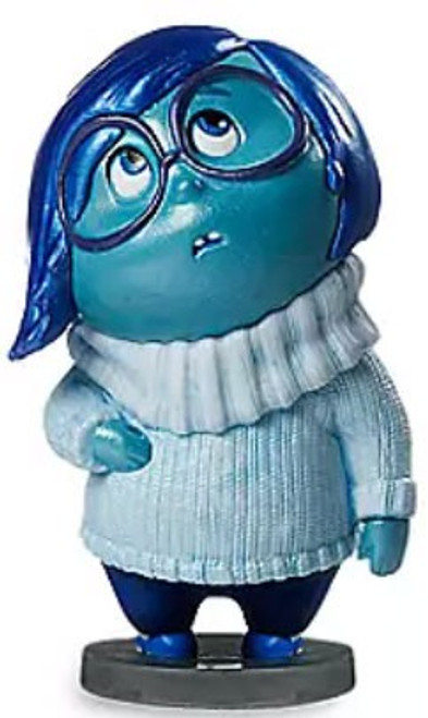 Disney / Pixar Inside Out Sadness Exclusive 3-Inch Mini PVC Figure [Loose (No Package)]