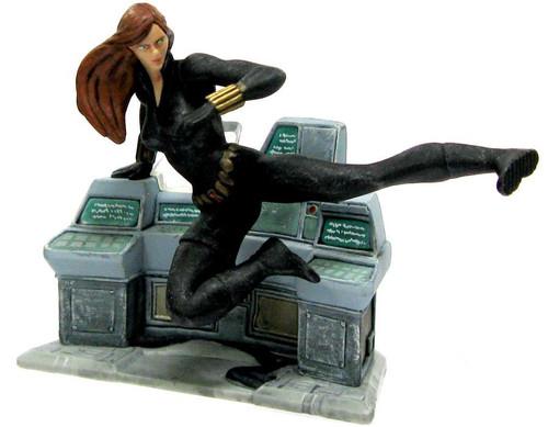 Disney Marvel Avengers Black Widow PVC Figure [Kicking Loose]
