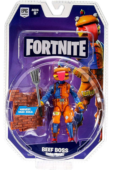 Fortnite Solo Mode Beef Boss Action Figure