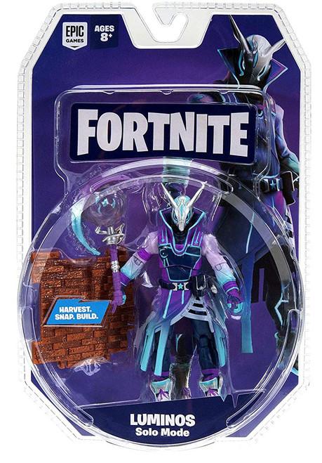 Fortnite Solo Mode Luminos Action Figure