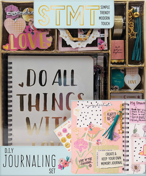 STMT Simple Trendy Modern Touch D.I.Y. Journaling [Love]