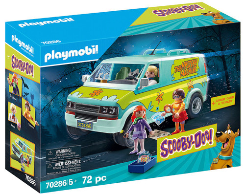 Playmobil Scooby-Doo! Mystery Machine Set #70286
