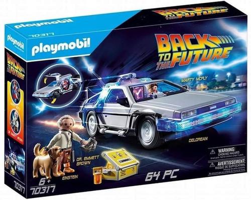 Playmobil Back to the Future DeLorean Set #70317