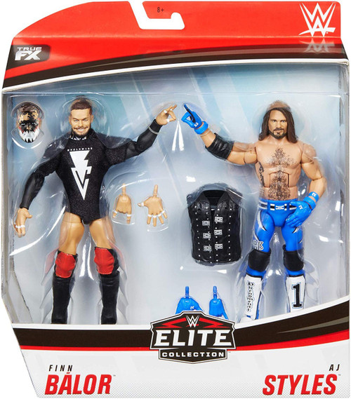 WWE Wrestling Elite Collection Finn Balor & AJ Styles Action Figure 2-Pack