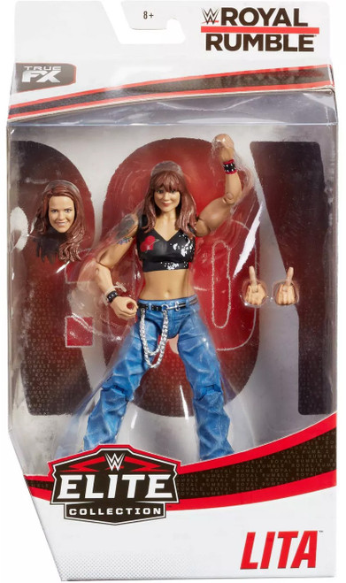 WWE Wrestling Elite Collection Royal Rumble Lita Exclusive Action Figure