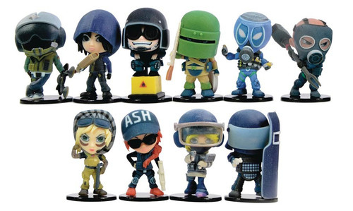 Ubisoft Collectible Figure Rainbow 6 Siege Mystery Box [12 Packs]