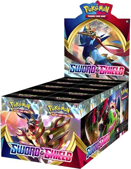 Pokemon Trading Card Game Sword & Shield Build & Battle DISPLAY Box [10 Units]