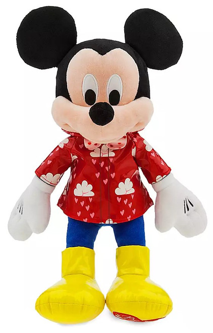 Disney 2020 Valentine's Day Mickey Mouse Exclusive 15-Inch Plush [Rain Gear]