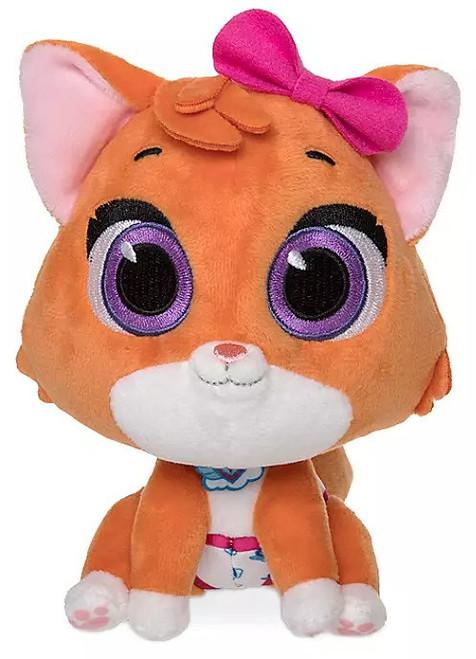 Disney Junior TOTS (Tiny Ones Transport Service) Mia The Kitten 6-Inch Mini Bean Bag Plush [Version 2]