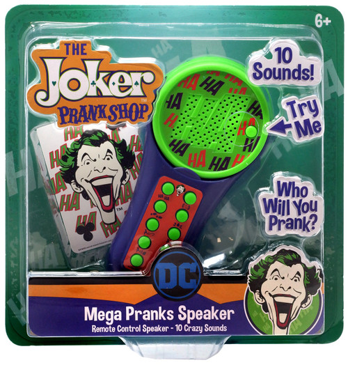 DC Batman The Joker Prank Shop Mega Pranks Speaker