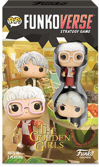 Golden Girls POP! Funkoverse 101 Strategy Board Game Expandalone