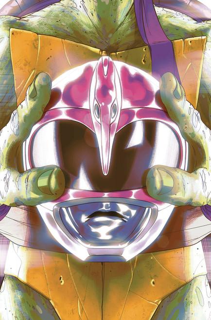 Boom Studios Power Rangers & Teenage Mutant Ninja Turtles #4 Comic Book [Goni Montes Cover E]