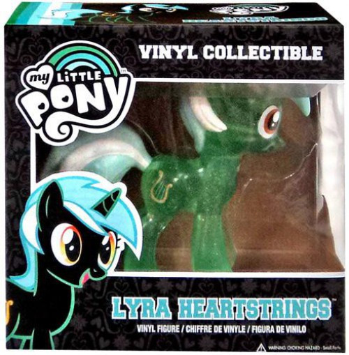 Funko My Little Pony Vinyl Collectibles Lyra Heartstrings Vinyl Figure [Translucent Variant, Damaged Package]