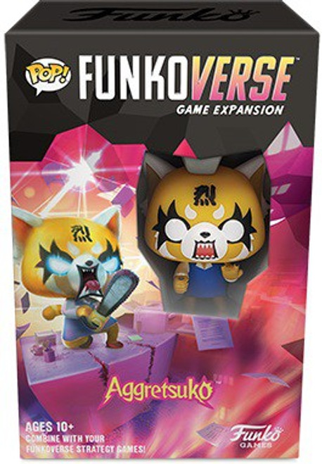 Aggretsuko POP! Funkoverse 100 Strategy Board Game Expansion Pack