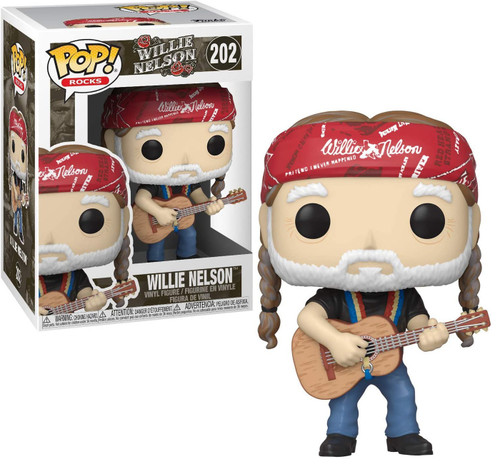 Funko POP! Rocks Willie Nelson Vinyl Figure #202