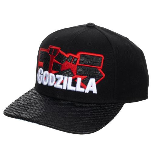 Godzilla Kanji Pre-Curved Snapback Cap