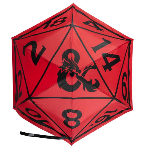 Dungeons & Dragons 20-Sided Dice Print Umbrella (Pre-Order ships January)