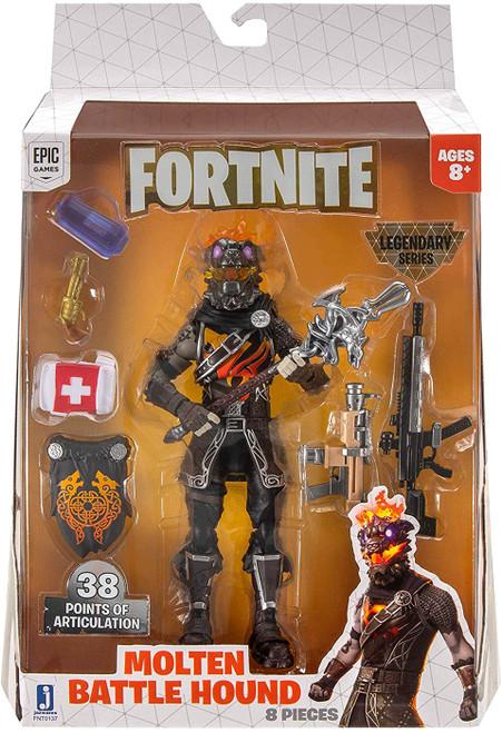 Fortnite Legendary Series Molten Battle Hound Action Figure