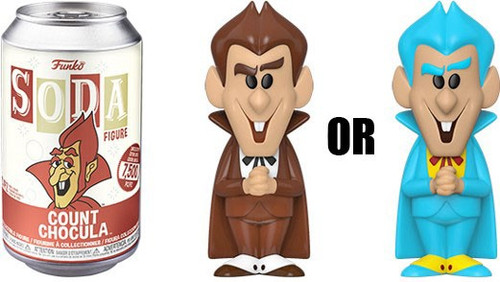 Funko General Mills Vinyl Soda Count Chocula Limited Edition of 7,500! Vinyl Figure [1 RANDOM Figure Look For The Chase!]