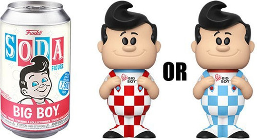 Funko Ad Icons Vinyl Soda Big Boy Limited Edition of 7,500! Vinyl Figure [1 RANDOM Figure Look For The Chase!]