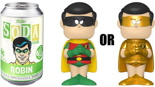 Funko DC Vinyl Soda Robin Limited Edition of 7,500! Vinyl Figure [1 RANDOM Figure Look For The Chase!]