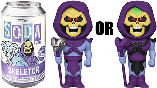 Funko Masters of the Universe Vinyl Soda Skeletor Limited Edition of 10,000! Vinyl Figure [1 RANDOM Figure Look For The Chase!]