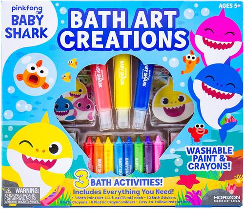 Pinkfong Baby Shark Bath Art Creations