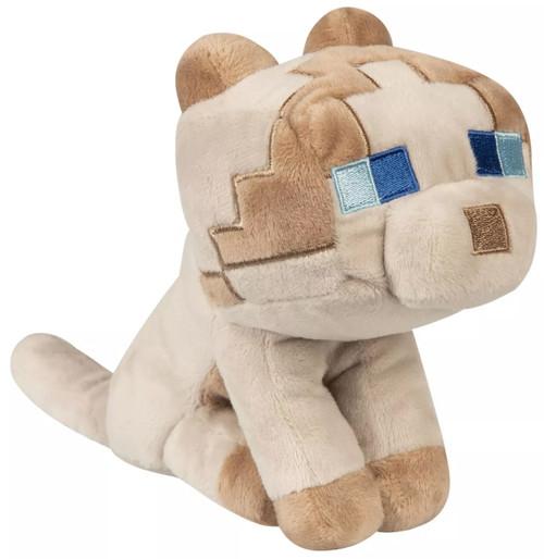 Minecraft Happy Explorer Rag Doll Cat 5.25-Inch Plush