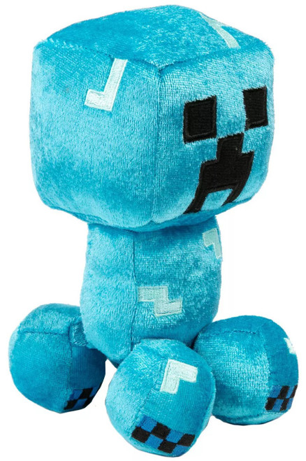 Minecraft Happy Explorer Charged Creeper 5.25-Inch Plush
