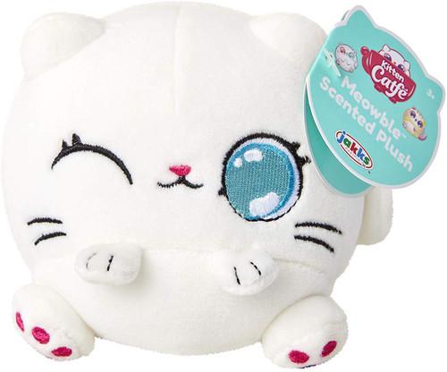 Kitten Catfe Meowbles Series 1 White Cat Scented Mini Plush